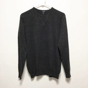 J. Crew Enfield Dark Blue Marled Sweater